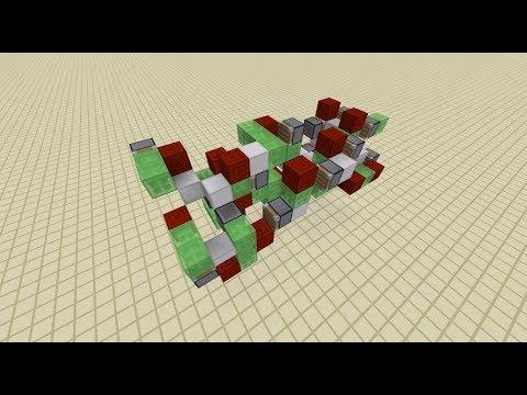 Semi-Automatic Move-Able TNT Cannon - B01 in Minecraft
