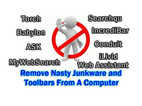 Remove Nasty Junkware and Toolbars From Computer