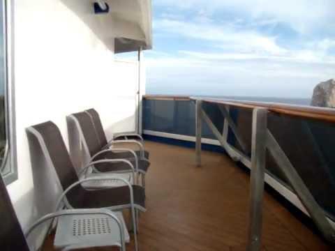 Carnival Splendor Room 6485 - Aft Premium Vista Balcony
