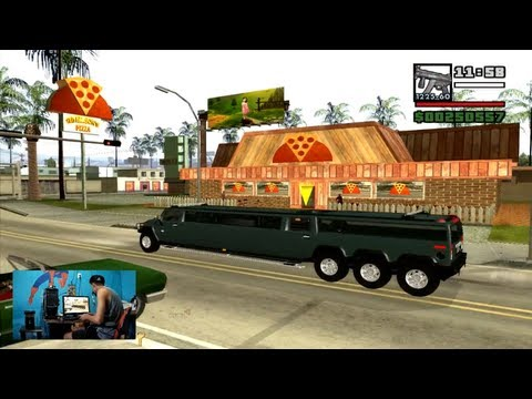 Hummer H2 Suv Triple Axle GSD Limosine para GTA San Andreas 2013