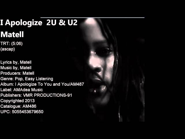 I Apologize 2U & U2 - Video Promo