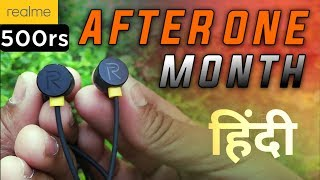 Realme Earphones Review - After One Month Of Use!