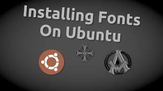 Install Fonts Ubuntu | Free Commercial Fonts | Tutorial Beginner Level