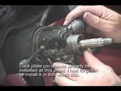 Part 3 S10 Loose Tilt Steering Repair Proj 5