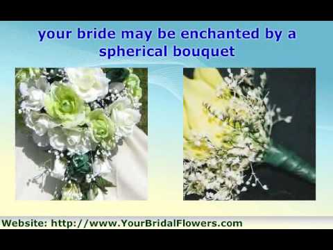 How to Commentary: Silk Wedding Bouquet Arrangements
