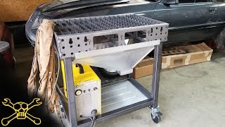 Custom Sheet Metal on the Plasma Table | Plasma Cart