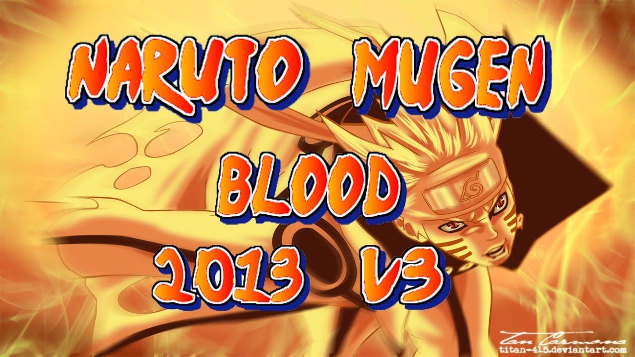 Naruto Blood Mugen 2013 V5 Скачать Торрент