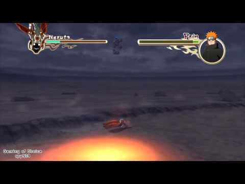 Naruto Shippuden Ultimate Ninja Storm 2 - Playthrough - 066 - Sage Naruto Vs Pain (part 1 Of 2) video