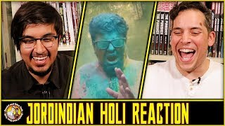 HOLI Expectations vs Reality | Jordindian Reaction and Discussion