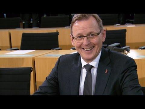 Knapp, aber gewählt: Bodo Ramelow regiert Thüringen