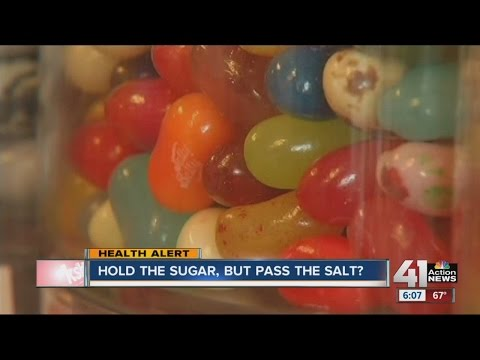 Researchers say sugar could be worse for blood pressure than salt
