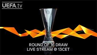 UEFA Europa League R16 draw LIVE!
