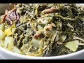 Soul Food Turnip Greens - How to cook turnip greens - I Heart Recipes