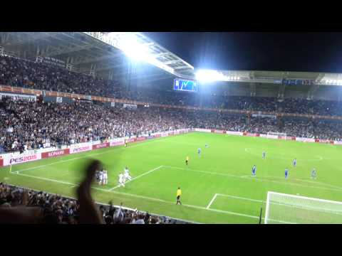 Israel vs Bosnia 16.11.2014 - After 3rd Goal to Israel