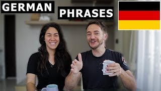 10 GERMAN PHRASES Every Traveler Should Know! (Basic German)