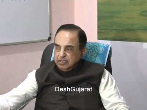 Subramanian Swamy funny Reply about the threat from congress