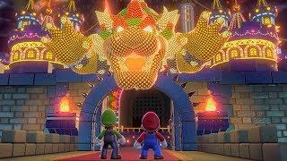 Super Mario 3D World - Final Castle (2 Players)