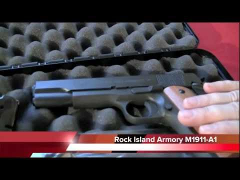 Rock Island Armory M1911-A1 Review. Crucible Arms