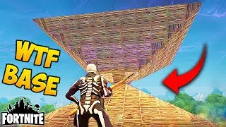 BEST BASE EVER MADE ON FORTNITE? - Fortnite Funny Fails and WTF Moments! #66 (Daily Moments)