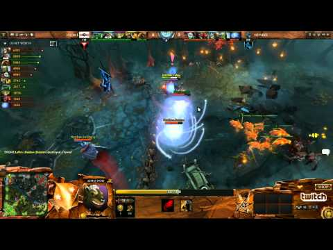 EHOME vs Newbee Game 1  Dota 2 Champions League Groupstage  DurkaDota Scantzor