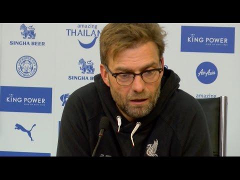 Leicester 2-0 Liverpool - Jurgen Klopp's Post Match Press Conference