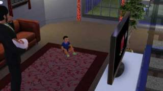 The Sims 3 - weird baby glitch