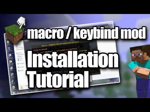 Minecraft Macro / Keybind Mod Installation Tutorial