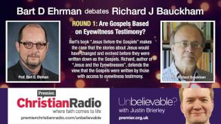 Video: Are Gospels Based on Eyewitness Testimony - Bart Ehrman vs Richard Bauckham 1/2