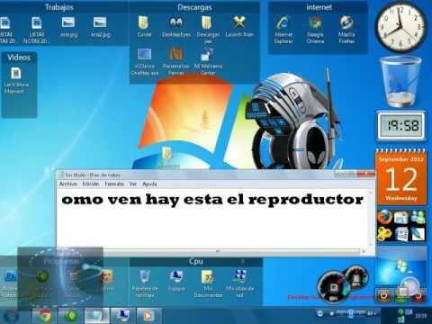 Como descargar reproductor windows media alienware Para windows vista.xp y Seven