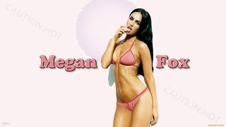 Hot and Sexy Megan Denise Fox | Beautiful Stars | Kiss channel