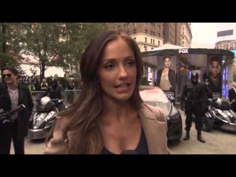 Minka Kelly Promotes 'Almost Human' in New York