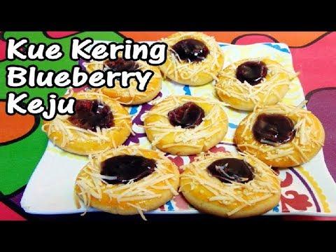 Cara Membuat Kue Kering Blueberry Keju(Blueberry Thumbprint Cookies)