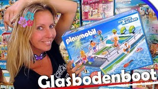 PLAYMOBIL 🚤 Glasbodenboot mit Unterwassermotor 9233 Ferien Unboxing Sports & Action