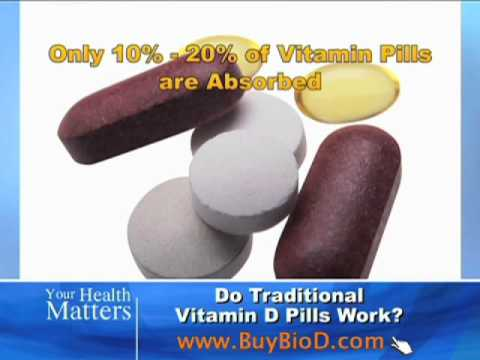 Do Traditional Vitamin D Pills Work?
