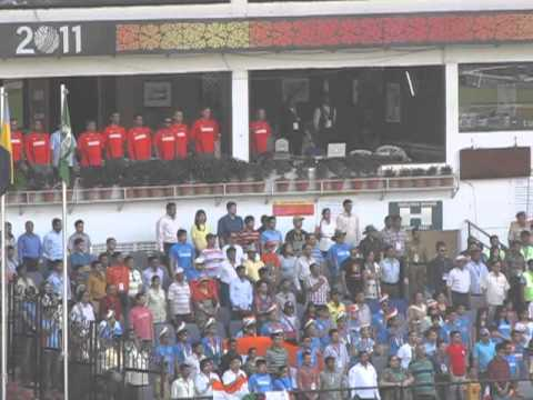 India's National Anthem at Cricket World Cup 2011