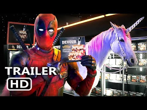 DEADPOOL 2 Unicorn Trailer (NEW 2018) Ryan Reynolds Movie HD