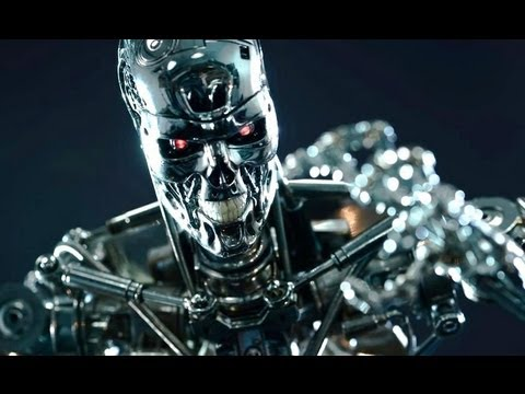 T 800 Terminator HOT TOYS 1/4 ENDOSKELETON T800 TERMINATOR FIGURE - YouTube