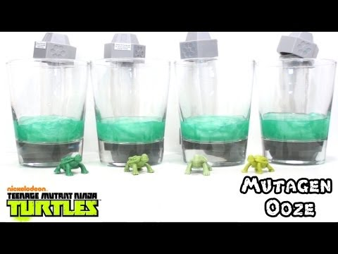 Video Review of the 2012 Teenage Mutant Ninja Turtles: Mutagen Ooze