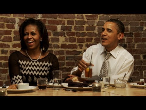 Dinner with Barack and Michelle