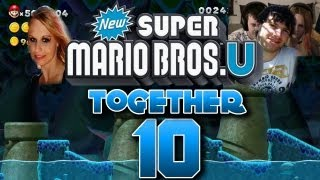 Let's Play Together New Super Mario Bros U Part 10