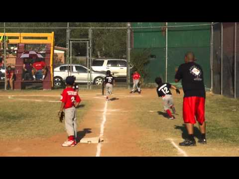 Donna Little League Braves VS Red Socks 6/9/2011 Donna, Texas