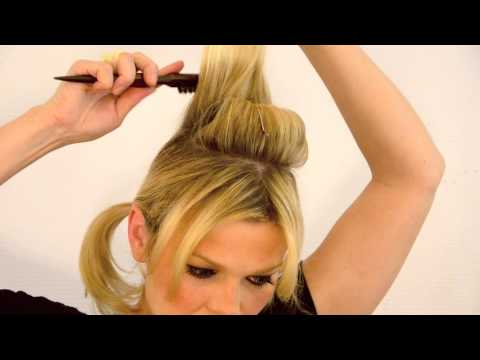 Vintage 60s Beach Bunny hair tutorial