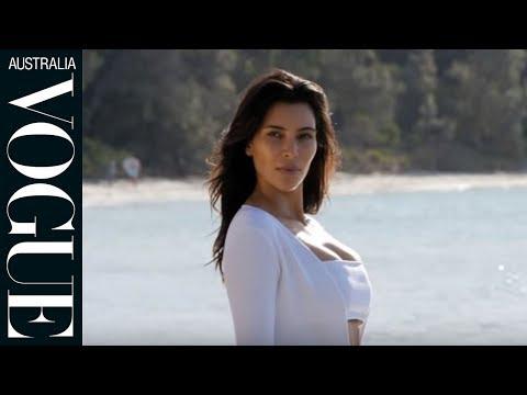 Watch: Kim Kardashian West for Vogue Australia
