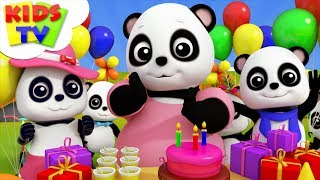 Happy Birthday Song | Baby Bao Panda Cartoons | Kids Songs & Nursery Rhymes