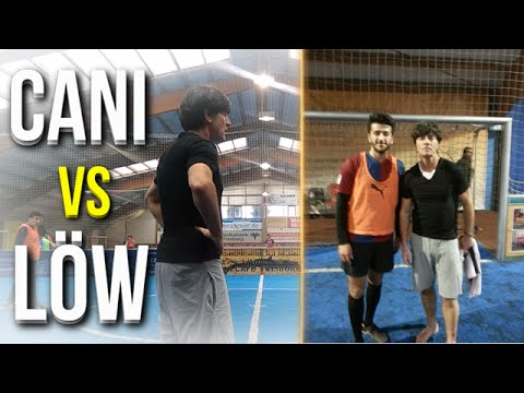 JOACHIM LÖW vs CANI! IRL FOOTBALL vs WORLD CUP WINNING COACH!