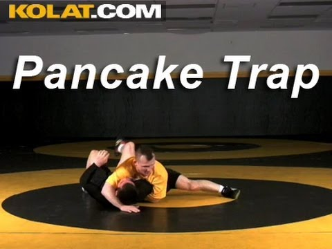 Pancake Trap KOLAT.COM Wrestling Techniques Moves Instruction Image 1