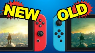 Old vs New Switch: What Nintendo didn't tell you