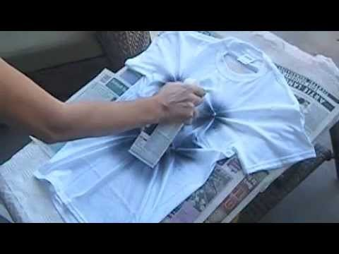 Diy halloween t shirt ideas youtube for How to put a picture on a shirt diy