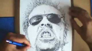James Hetfield - Speed Drawing