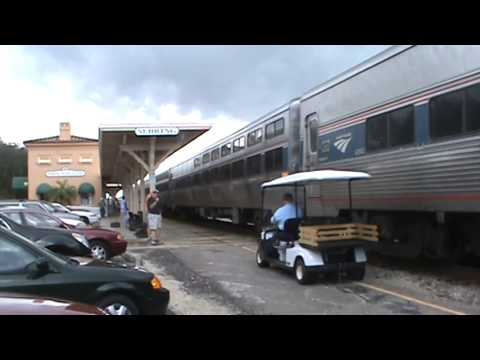 Amtrak in Sebring,FL on 3/12/14